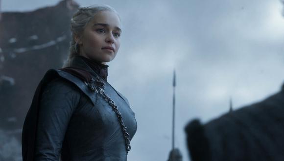 """Game of Thrones"". Daenerys Targaryen (Emilia Clarke) tras la masacre de King's Landing. Foto: HBO."
