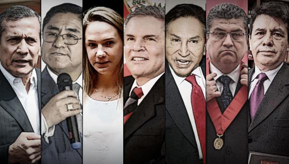 Investigaciones fiscales contra políticos y funcionarios públicos han terminado en el Poder Judicial (Composición: GEC)