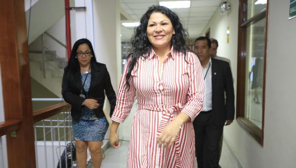 Legisladora no agrupada fue acusada del presunto delito de falsedad genérica