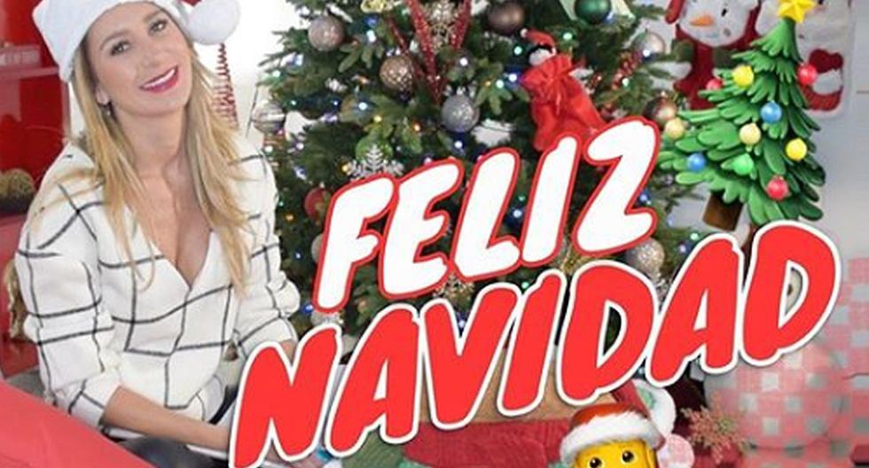 """Geraldine Bazán se lució con gorrito de Papá Noel para desear """"una hermosa Nochebuena colmada de amor"""". (Foto: Instagram)"""