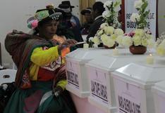 Huancavelica: entregan restos de seis víctimas de violencia tras 36 años