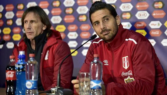 Claudio Pizarro era el capitán de la selección peruana hasta el 2016. (Foto: AFP)