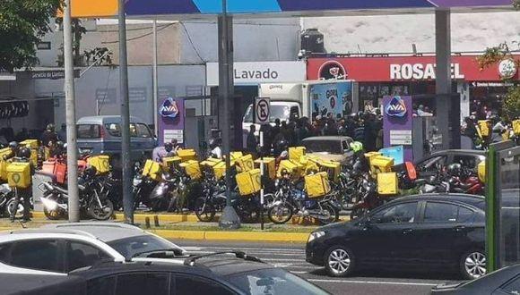 Los aplicativos contribuyen. El 2018 se incrementó en 2.3% el empleo informal en Perú (Foto: Twitter/ @mtellorodriguez)