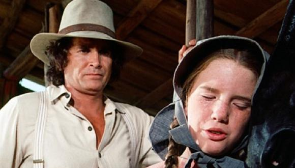"Michael Landon interpretaba a Charles y Melissa Gilbert daba vida Laura en ""La familia Ingalls"" (Foto: NBC)"