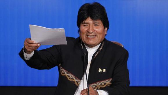 Bolivia: Evo Morales inscribe su candidatura a la re-relección