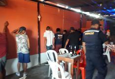 Piura: intervienen alrededor de 50 personas en el interior de cantinas clandestinas en Talara