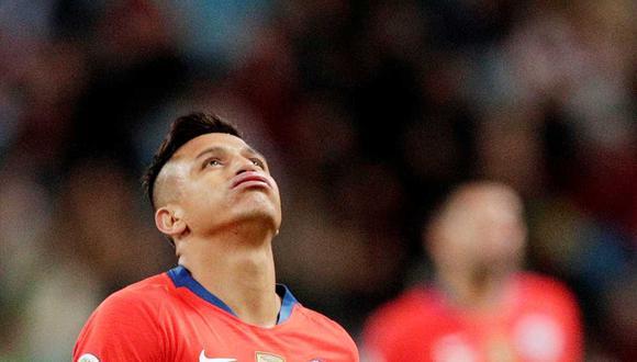 Alexis Sánchez es baja en la selección chilena por una lesión. (Foto: Reuters)