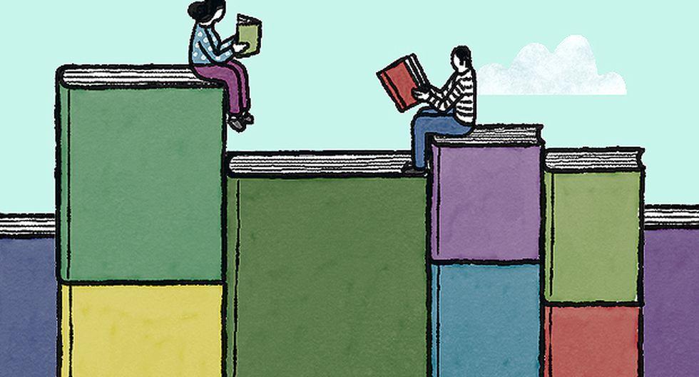"""""""Según la última Evaluación Censal de Estudiantes, solamente el 37,8% de los estudiantes de secundaria entienden cabalmente lo que leen"""". (Ilustración: Víctor Aguilar Rúa)."""