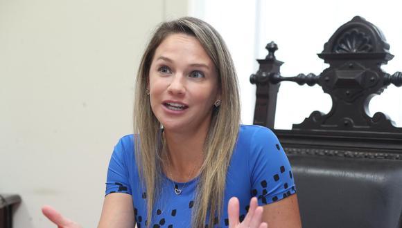 La congresista Luciana León señaló que ha conversado con la bancada aprista sobre el proyecto de ley.