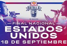 Final Nacional Red Bull USA EN VIVO: dónde y a qué hora ver el evento