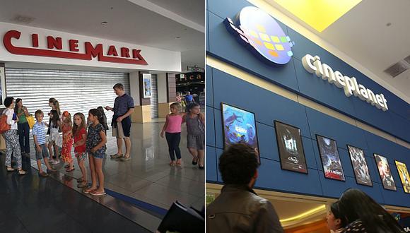 El Indecopi dispuso que tanto Cineplanet como Cinenmark permitan el ingreso de personas con alimentos en sus salas en marzo pasado. (Fotos: El Comercio)