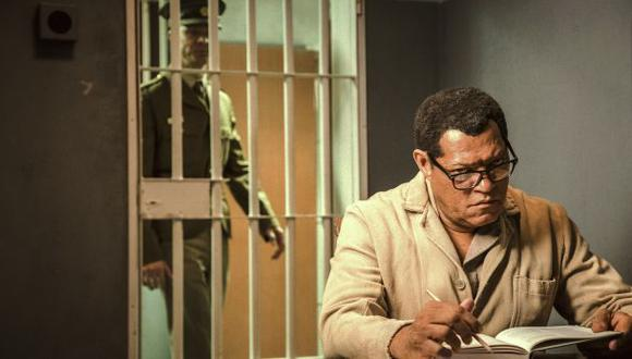 "Laurence Fishburne es Nelson Mandela en el filme ""Madiba"""