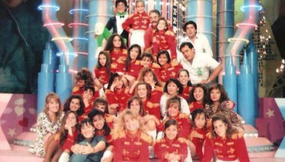 """Participantes y parte del equipo de producción de """"Buscando a la Paquita Peruana"""". (Foto: archivo personal de Maricielo Effio)"""