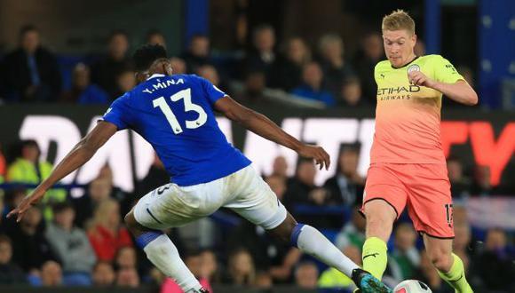 El duelo Everton-Manchester City cambiará de fecha, por los casos de coronavirus en los 'Citizens'. (Foto: AFP)