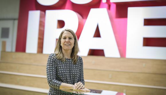 Elena Conterno señala que en este CADE no se vieron temores relacionados a las elecciones congresales. (Foto: Hugo Pérez/GEC)
