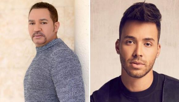 """Prince Royce y Frank Reyes se han enfrentado por el sobrenombre del """"Príncipe de la  bachata (Foto: GEC)"""