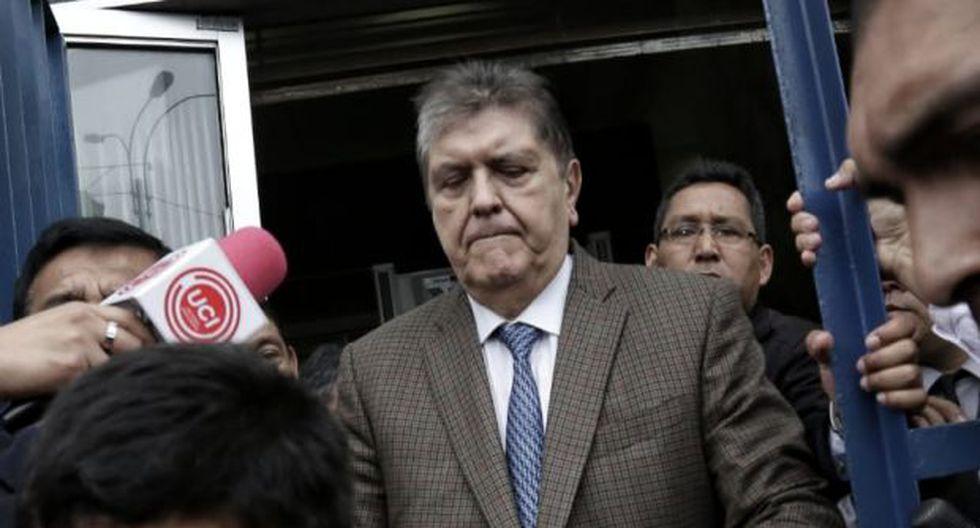 El pedido fiscal para Alan García se conoce el mismo día de su arribo a Lima. (Foto: Mario Zapata / El Comercio)