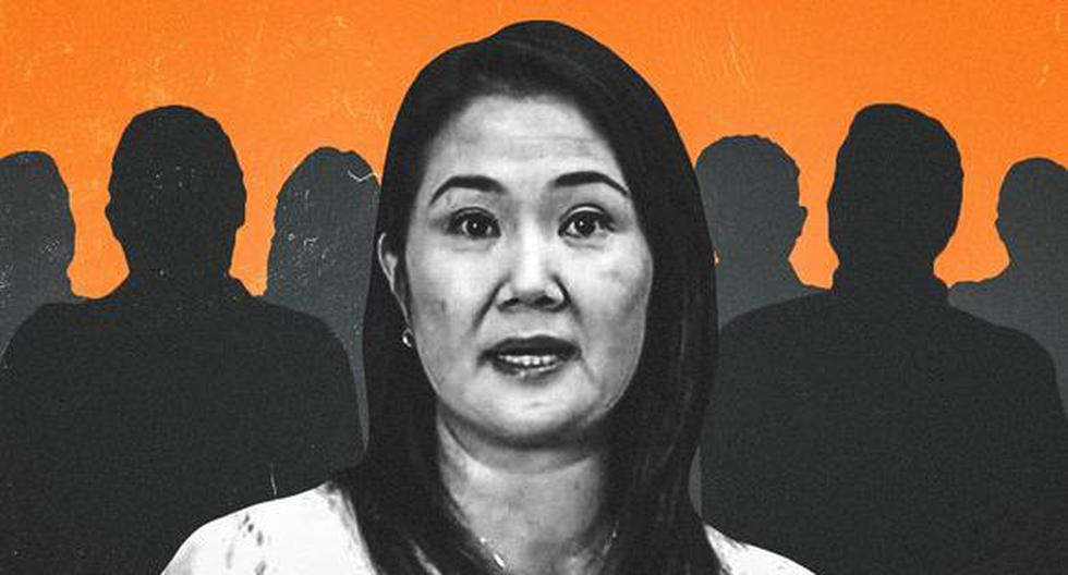 Durante la campaña de segunda vuelta, políticos de distintos partidos y personalidades independientes se sumaron a la campaña de Keiko Fujimori. (Composición: Ángela Peña / El Comercio)