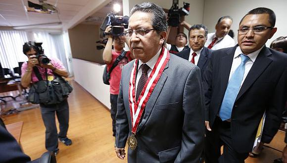 Fiscal Pablo Sánchez: Destitución de Ramos Heredia no me alegra