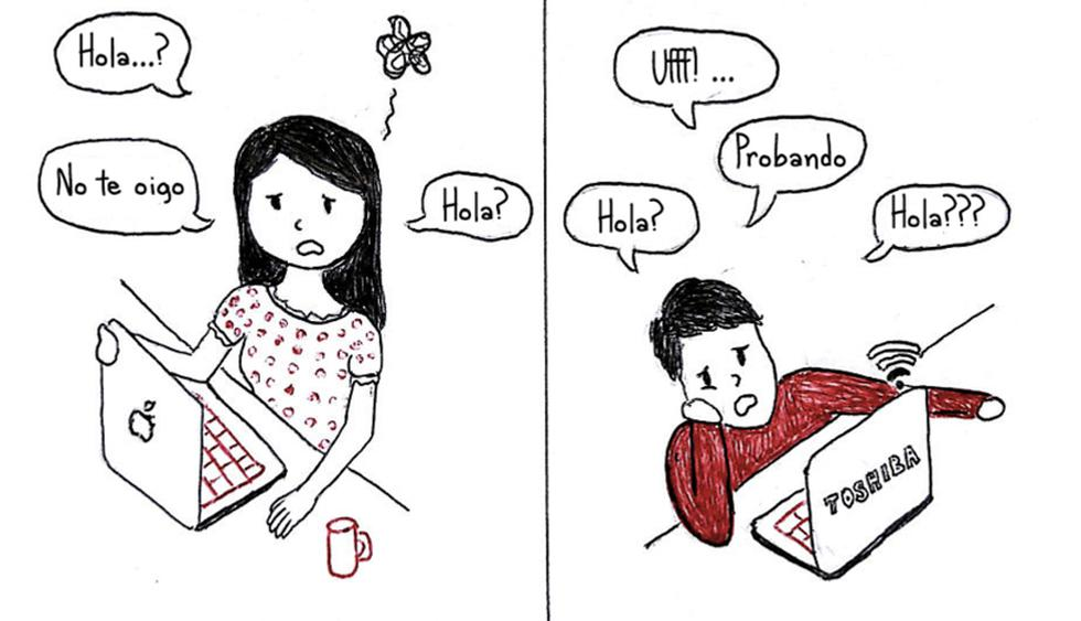 ¿Qué pasa cuando falla la conexión a Internet? Solo hay que tener paciencia. (Foto: Stylish Wanderers)