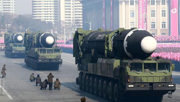 Irán y Corea del Norte estarían cooperando en el desarrollo de misiles, según la ONU. (AFP).