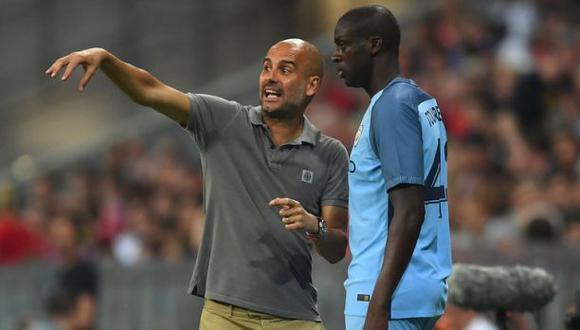"Pep Guardiola ""humilló"" a Yaya Touré, según agente del africano"