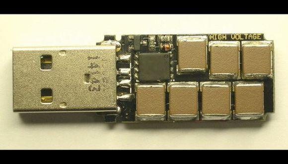 Este USB es capaz de destruir cualquier dispositivo en segundos