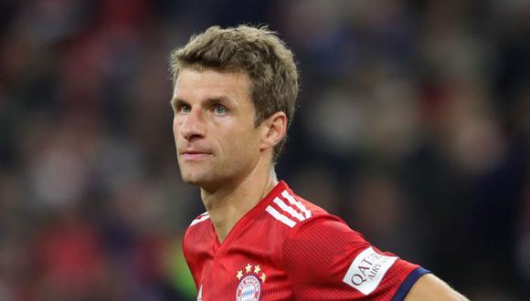 Thomas Müller, de 30 años, se plantea la posibilidad de irse del Bayern Múnich. (Foto: AP)