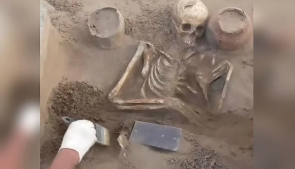 Se viralizó en YouTube el insólito hallazgo de unos arqueólogos en la Atlántida rusa. (Foto: Captura)