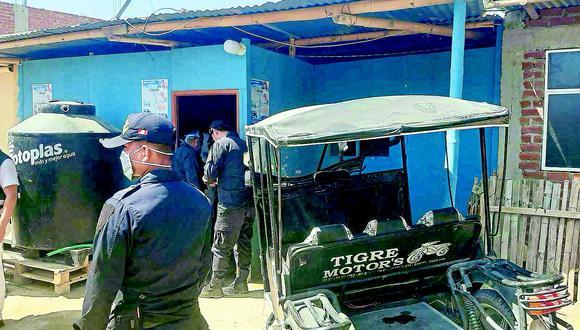 Los asesinos a sueldo lo acribillaron en la puerta de su casa del asentamiento humano Violeta Ruesta, en Castilla, Piura. (Foto: GEC)