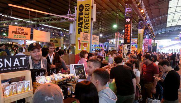 La feria gastronómica Masticar, en Buenos Aires (Foto: EFE)