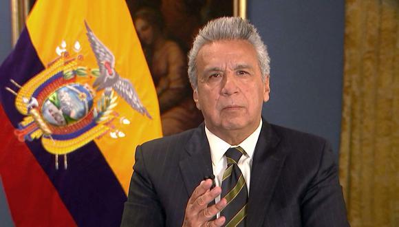 El presidente de Ecuador, Lenín Moreno, apuesta por quitar los subsidios al combustible. (Foto: AFP).