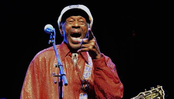 Chuck Berry anuncia su primer disco tras casi 4 décadas de para