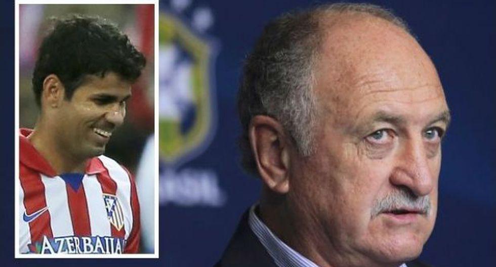 Brasil quería convocar a Diego Costa para el Mundial