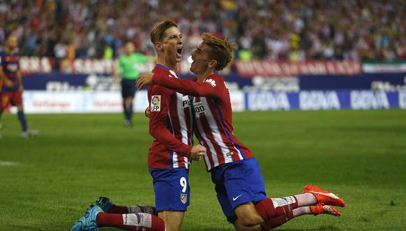 Es uno de sus favoritos: Antoine Griezmann convirtió cuatro goles con Fernando Torres en PES 2020   Foto: AP