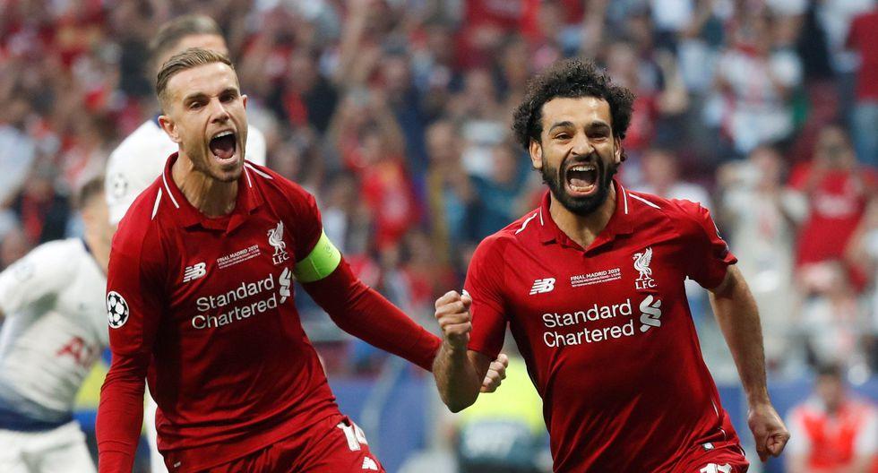 Liverpool vs. Tottenham: Mohamed Salah marcó el 1-0 de la final de la Champions League de penal. (Foto: Reuters)