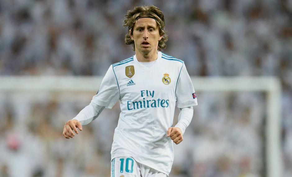 """Luka Modric, flamante dueño del Balón de Oro 2018, aseveró que no abandonará el Real Madrid por nada del mundo. """"Cumpliré mi contrato hasta el final"""", dijo. (Foto: EFE)"""