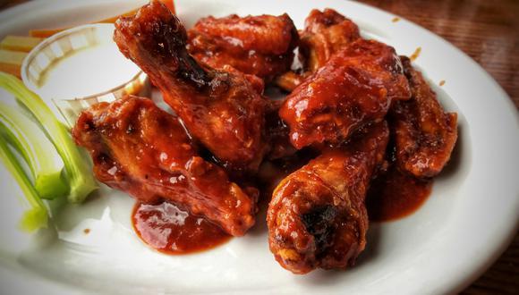 Alitas de pollo picantes o Buffalo wings. (Shelby L. Bell | Flickr)