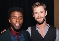 Chadwick Boseman murió: así fue la despedida de Chris Hemsworth