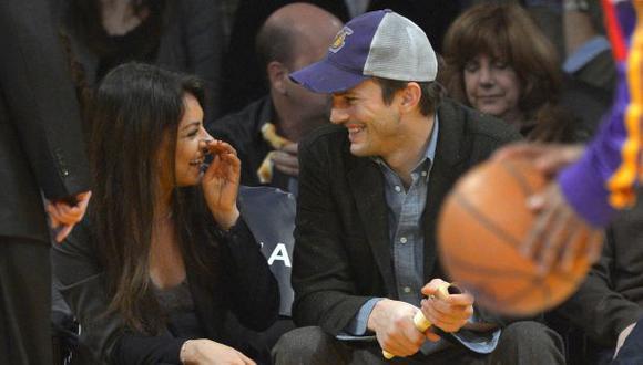 Ashton Kutcher le pidió matrimonio a Mila Kunis