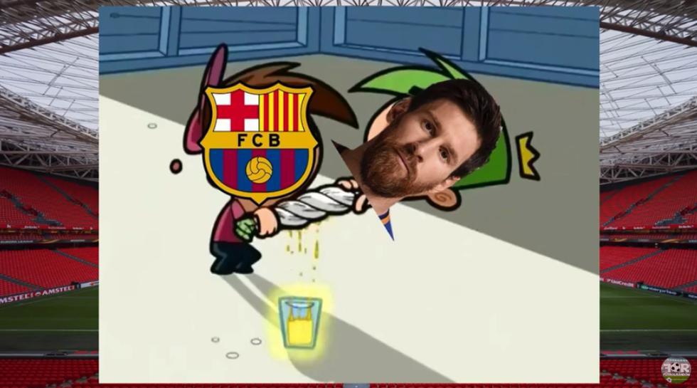 Barcelona vs. Athletic Bilbao: hilarantes memes tras el empate en San Mamés por la Liga Española.   Foto: Facebook