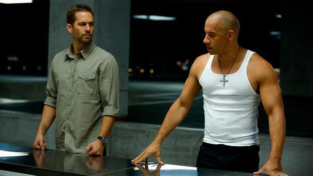 "Paul Walker and Vin Diesel in ""Fast and furious 6""."
