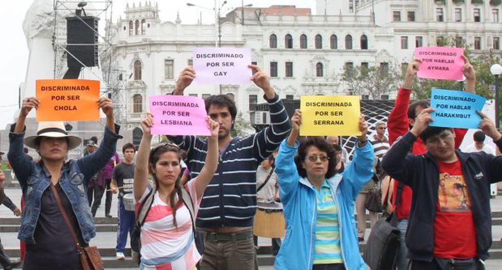 Cercado de Lima y 26 distritos no sancionan discriminación