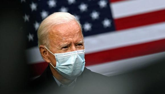 El 57 % de los votantes probables votaría por Joe Biden, frente a un 41 % que lo haría por Donald Trump, según la encuesta de CNN. (JIM WATSON / AFP).