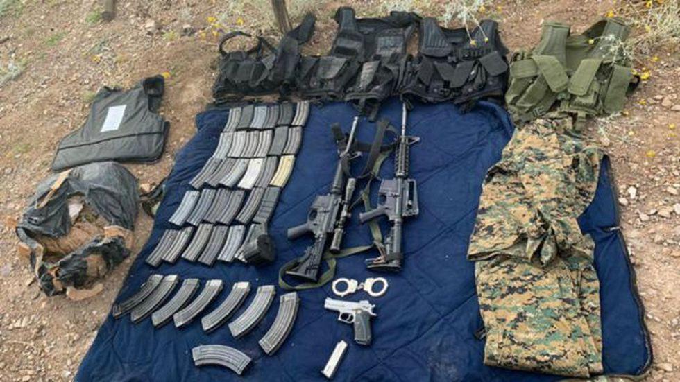 El gobierno de México ha confiscado más de 193.000 armas. Foto: Gobierno de México, vía de BBC Mundo