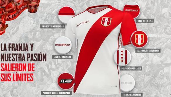 La nueva camiseta de la selección peruana ya tiene precio (Foto: Marathon).