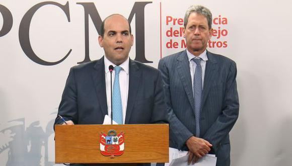 Fernando Zavala se ausentará de la PCM por tres días