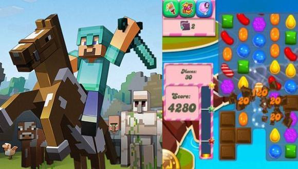 Windows Phone se arma y trae consigo Minecraft y Candy Crush