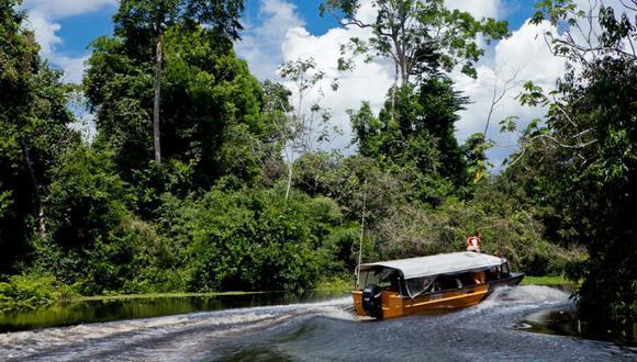 El 22 de abril pasado, la ministra de Comercio Exterior y Turismo, Claudia Cornejo, entregó el Sello internacional Safe Travels al destino turístico Iquitos-Río Amazonas-Reserva Nacional Pacaya Samiria. (Foto: Difusión)