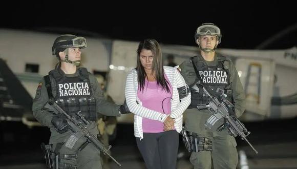 Capturan a Nini Úsuga, hermana de Otoniel, el jefe de la mayor banda de narcotraficantes de Colombia, el Clan del Golfo.